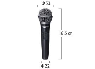 Audio-Technica 有線マイク PRO31 サイズ