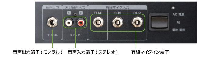 ワイヤレススピーカー20W オーディオテクニカ ATW-SP717(背面)
