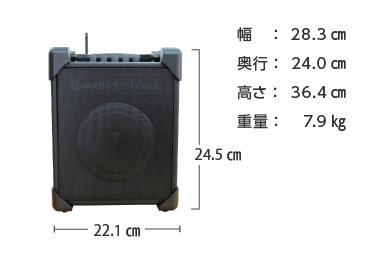 ワイヤレススピーカー20W オーディオテクニカ ATW-SP717 画像2