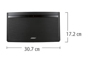 ワイヤレススピーカー AirPlay対応 BOSE SoundLink Air サイズ