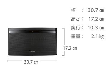 ワイヤレススピーカー AirPlay対応 BOSE SoundLink Air 画像2