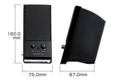 商品画像3 PCスピーカー サンワサプライ MM-SPL3BK