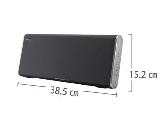 ソニー ポータブルスピーカー SRS-BTX500 サイズ