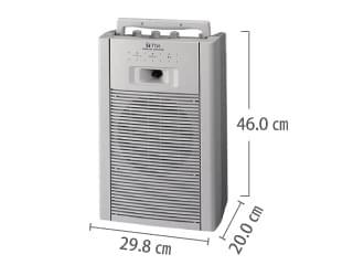 ワイヤレススピーカー20W TOA WA1802C サイズ