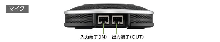 会議用マイクスピーカーシステム YAMAHA YVC-1000(付属品)