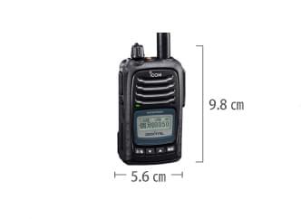 ICOM デジタル無線機 サイズ