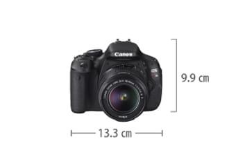Canon EOS Kiss X5 サイズ