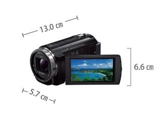 SONY HDR-CX535V サイズ