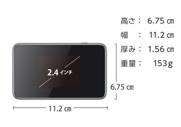 SoftBank ポケットWi-Fi LTE 4G 802ZT (定額制:5GB/月) 画像2