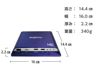 Bright Sign サイネージプレイヤー HD1024 画像1