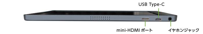 ポータブルモニター JN-MD-IPS1562FHDR(左側)