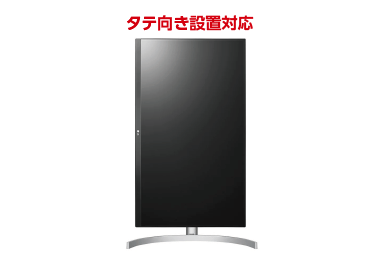 LG 4K IPSモニタ 27型 27UL850-W 画像2