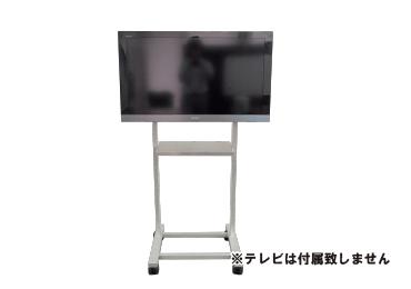40~55型用 組立式テレビスタンド(ハイタイプ)【弊社レンタルモニター専用品】 画像0
