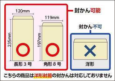 長形3号・角形8号封かん機 マックス EF-100N 画像1