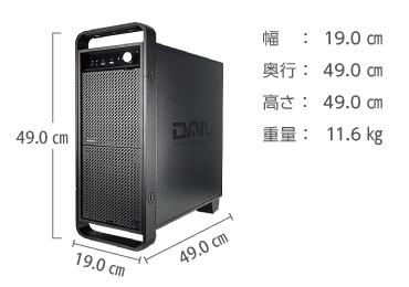 マウスコンピューター DAIV-DGX750E2-SH2【マンスリーレンタル】 画像2
