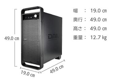 マウスコンピューター DAIV-DGX750H1-SH5(メモリ64GB) レンタル【マンスリーレンタル】 画像2
