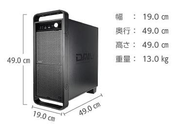 マウスコンピューター  DAIV-DGX750H2-M2SH5 レンタル【マンスリーレンタル】 画像2