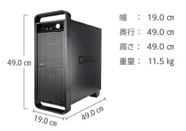 マウスコンピューター DAIV-DGX755U4-M2S5 画像2