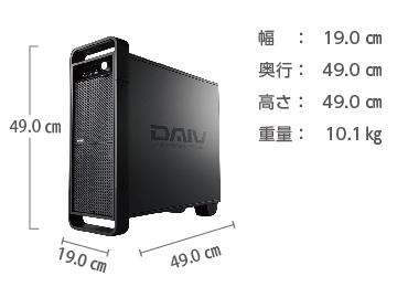 マウスコンピューター DAIV-DGZ530M3-M2S2【マンスリーレンタル】 画像2