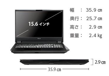 マウスコンピューター DAIV-NG5810U1-M2SS【マンスリーレンタル】  画像2