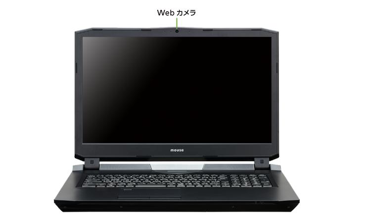 マウスコンピューター DAIV-NG7610E1-S5(前面)