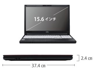富士通 LIFEBOOK A5510/E サイズ