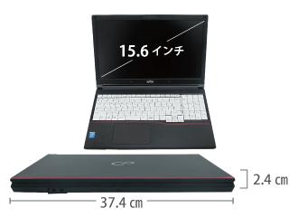 富士通 FMV-A574/MX サイズ