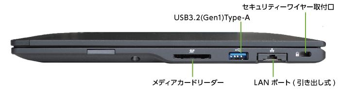 富士通 LIFEBOOK U9310/DX (右側)