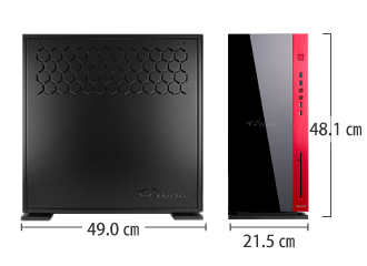 マウスコンピューター G-Tune XP-Z サイズ