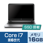 HP ProBook 450 G3 (i7/メモリ16GB/SSD)