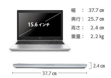 HP ProBook 650 G4(i7/メモリ16GB/SSDモデル) 画像2