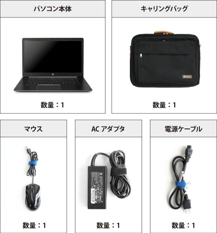 HP ZBook Studio G3 付属品の一覧