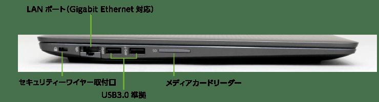 HP ZBook Studio G3(背面)