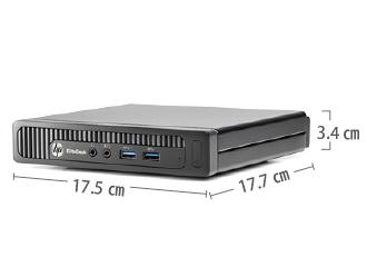 HP EliteDesk 800 G1 (i5モデル) キーボード・マウスセット サイズ