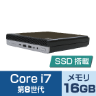 HP EliteDesk 800 G4 (i7/SSDモデル)