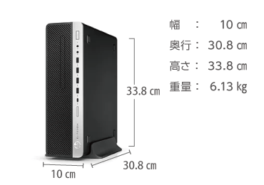 HP EliteDesk 800 G5 (i7/16GB/SSDモデル) 画像2