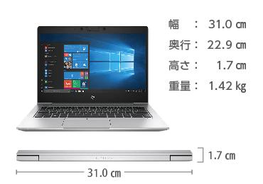 HP EliteBook 830 G6 SIMフリー 画像2