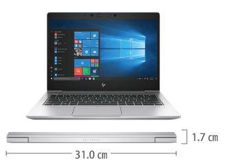 HP EliteBook 830G6 SIMフリー サイズ