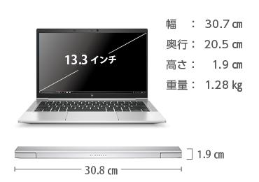 HP EliteBook 830 G7 SIMフリー 画像2