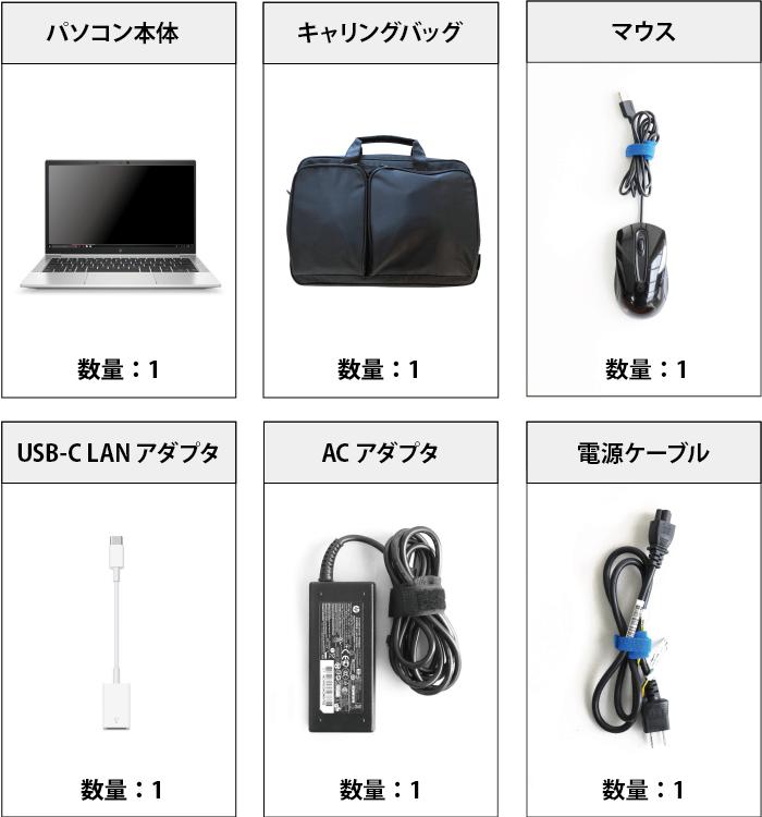 HP EliteBook 830 G7 付属品の一覧