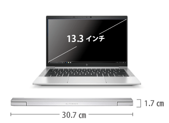 HP EliteBook 830 G7 サイズ