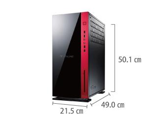 マウスコンピューター MASTERPIECE i1640PA3-SP3 サイズ
