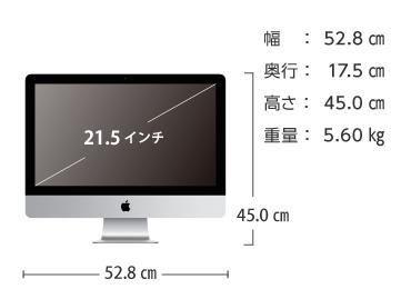iMac 21.5インチ MNDY2J/A 画像2