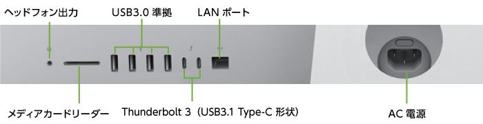 インターフェイス2 iMac Retina 27インチ(5K) MRQY2J/A