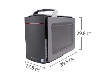 マウスコンピューター LITTLEGEAR i330BA1-MD【マンスリーレンタル】 サイズ