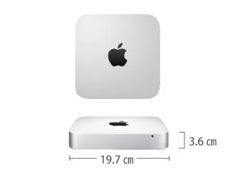 Mac mini MD388J/A サイズ
