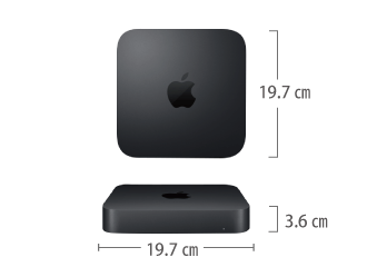 Mac mini Z0W2 サイズ