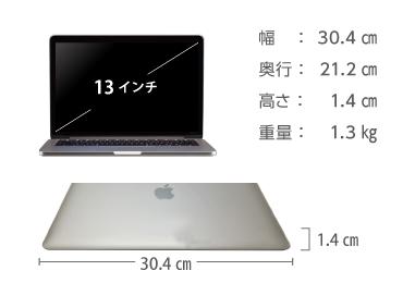 MacBook Pro Retina 13インチ MPXR2J/A 画像2