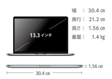 MacBook Pro Retina 13インチ MWP72J/A 画像2