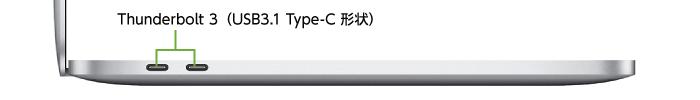 MacBook Pro Retina 13インチ Z0W7(左側)